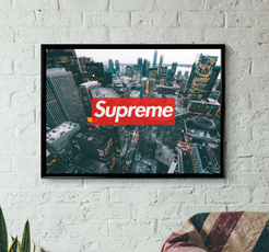 digitalprint, supreme, supremeposter, art