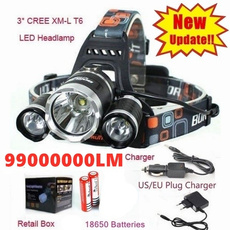 headlampled, led, Waterproof, charger