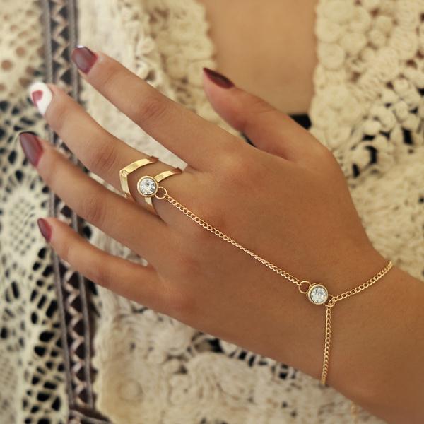 wristbracelet, Crystal Bracelet, Fashion, Chain bracelet