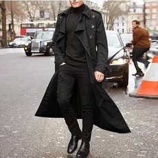trench, Moda, Invierno, Long Coat
