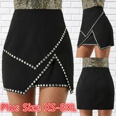 Summer, pencil skirt, Dress, high waist skirt