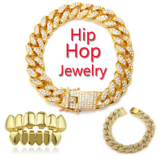 Hip Hop, goldplated, hip hop jewelry, Cosplay