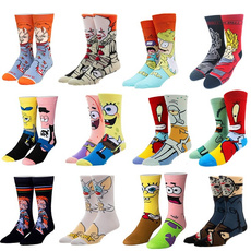 cartoonsock, Fashion, fuzzysock, Colorful