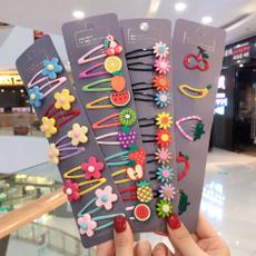 fruitshairclip, girlshairpin, Flowers, Princess