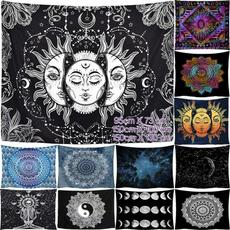 bohemia, decoration, Wall Art, mandalatapestry