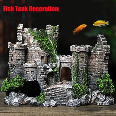 fishtankcastledecoration, aquariumsaccessory, Tank, fishsupply