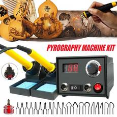 Machine, woodburningmachine, Wood, Tool