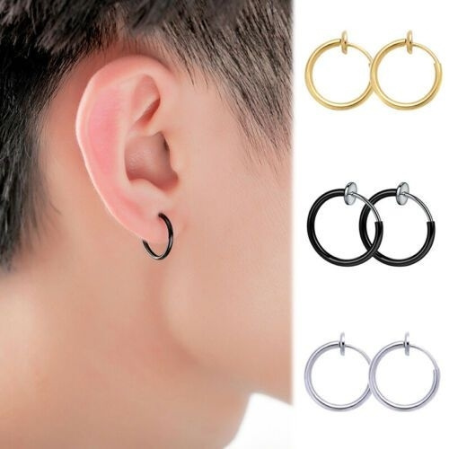 hiphopstylehoopearring, Jewelry, Classics, earringsforwomengirlearringsforwomengirl