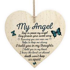 Heart, plaquesampsign, memorialmom, Home Decor