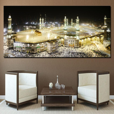 mekka, Pictures, art, Wall