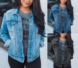 jeanscoat, jackets for women, Coat, Women's Outerwear