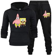 longpantsformen, hooded, Sleeve, hoodiepantssuit