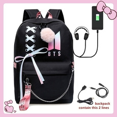 K-Pop, Shoulder Bags, School, kpopfashion