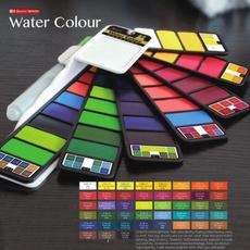 Art Supplies, art, solidwatercolor, waterbrush