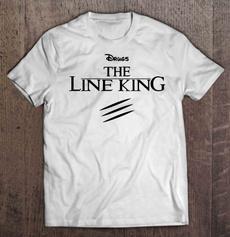 Mens T Shirt, drugsthelinekingtshirt, King, Halloween