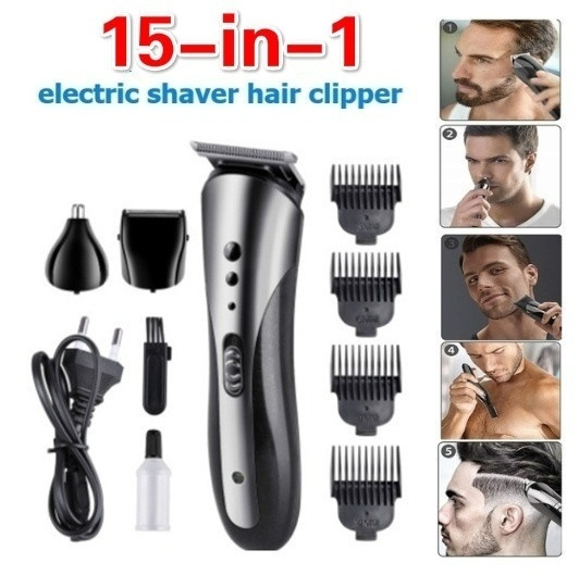 Electric, Waterproof, clippersforhair, haircuttingtool