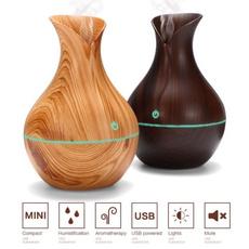 Wood, essentialoildiffuser, airhumidifier, Humidifier