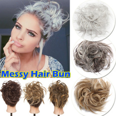 messybunscrunchie, hairbun, Jewelry, Hair Extensions