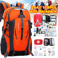 survival backpack, First Aid, Survival, camping