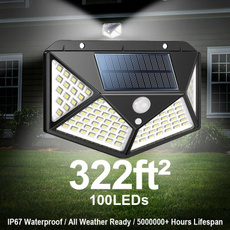 motionsensor, walllight, solarpoweredgadget, Garden