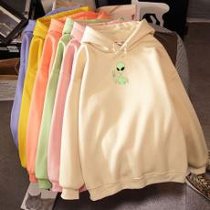 cute, Long Sleeve, Women's Sweatshirt, Harajuku