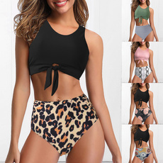 bathing suit, Fashion, bikini set, Halter