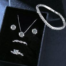 diamondringforwomen, party, exquisite jewelry, simpleearring