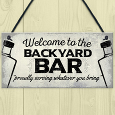 Home & Kitchen, Bar, hangingplaque, Gifts
