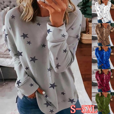 Fashion, Star, Necks, Sleeve