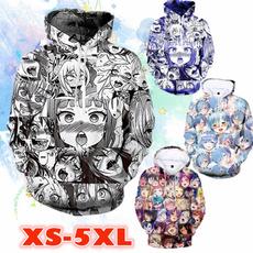 Funny, Sleeve, 3d sweatshirt, Long Sleeve