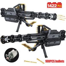 Toy, Lego, gatlinggun, Weapons
