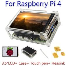 raspberrypi4b, case, Touch Screen, raspberrypi4