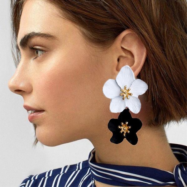 Gifts For Her, Summer, Hoop Earring, Dangle Earring