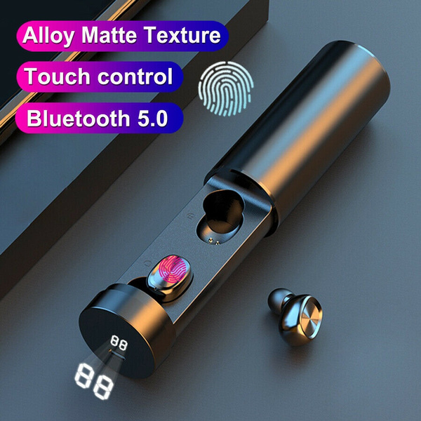 Bluetooth 5 0 Headset Tws Wireless Earphones Mini Earbuds Stereo Headphones Wish