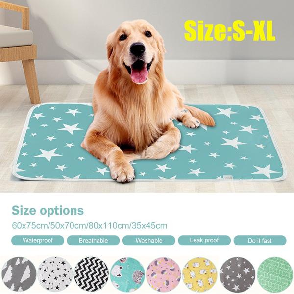 Absorbent Reusable Dog Pad Washable