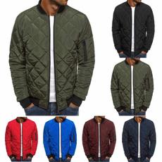 plaid, Winter, Coat, Overcoat