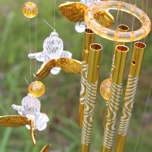 Windbell Angel Garden Large Wind Chimes Home Bells  Decor Ornament  Gift Yard