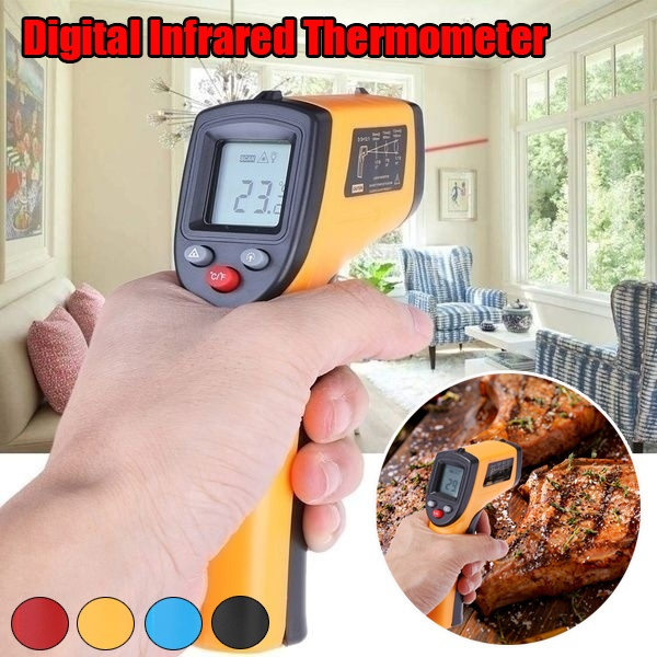 Home & Office, Laser, Temperature, Hand-Held