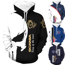 3D hoodies, Fashion, Coat, Tops