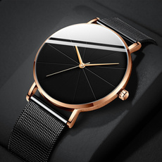 Fashion, rosegoldwatch, business watch, Stainless Steel