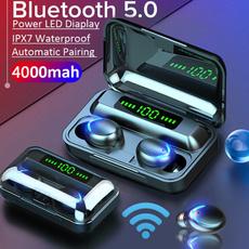 Headset, led, Waterproof, twsheadphone