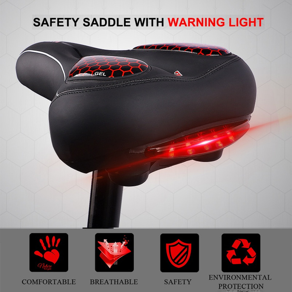 MTB Bike Saddle Seat Thicken Wide Comfortable Bicycle Chair GEL Hollow Saddles