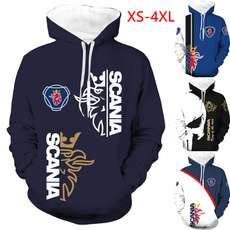 scania3dclothing, 3D hoodies, Fashion, Winter