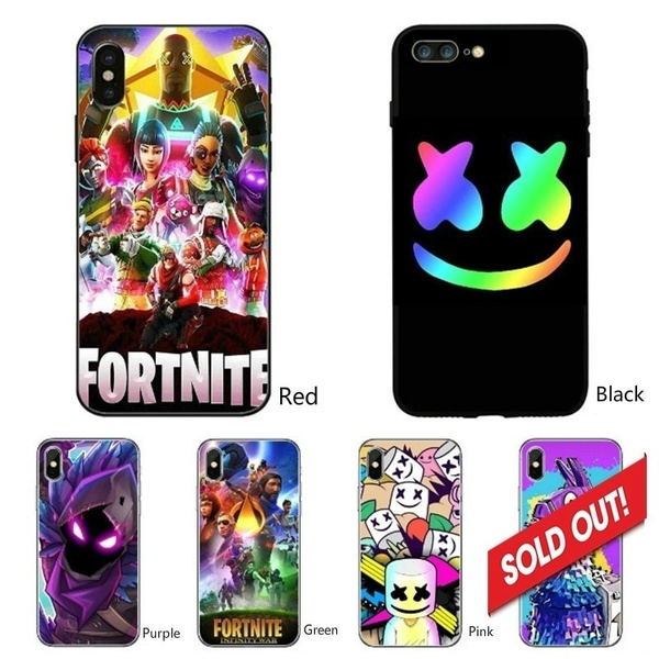 New Marshmello Fortnite Game Phone Case New Fashion Design For Iphone 5 5s Se 6 6s 7 8 Plus X Xr Xs Iphone 11 Wish