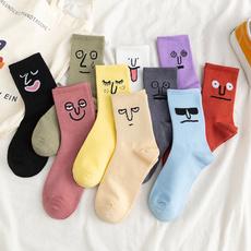 Hosiery & Socks, Funny, womensock, Colorful