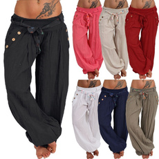 Women Pants, Long pants, harem, Plus Size