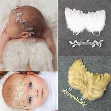 newbornbabyangelwing, boysangelwing, leafheadband, Angel