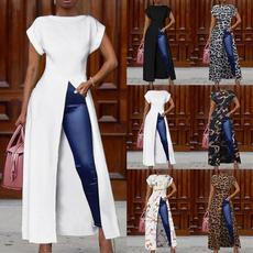 shirtsforwomen, Summer, Plus Size, tunic top
