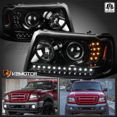 ranger, black, led, projector