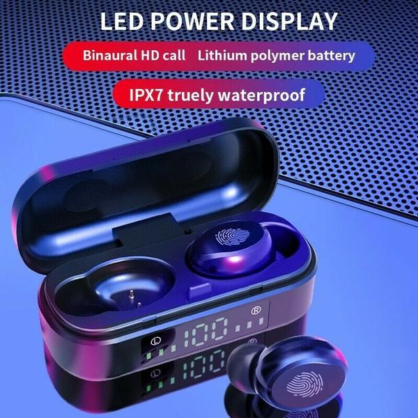 2020 New V8 Bluetooth 5 0 Headset Tws Wireless Earphones Mini Stereo Headphones Earbuds Wish